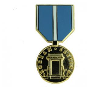 Korean Service Medal (Hat Pin)