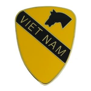 1st Cavalry Division Vietnam Pin