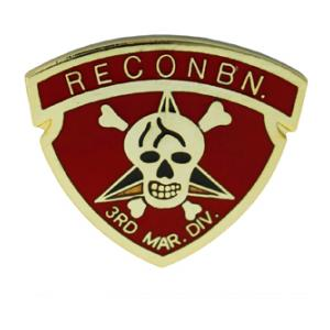 3rd Marine Recon Pin