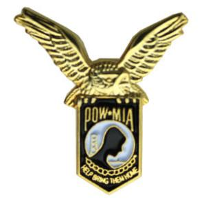 POW * MIA Eagle Pin