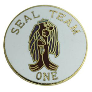 Seal Team 1 Pin