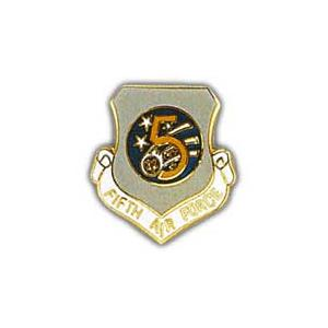 Fifth Air Force Pin