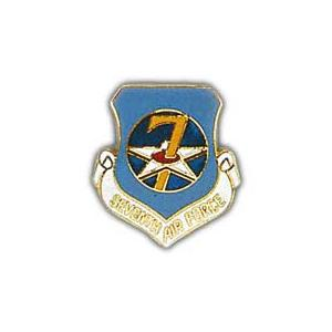 Seventh Air Force Pin