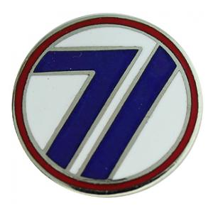 71st Division Pin