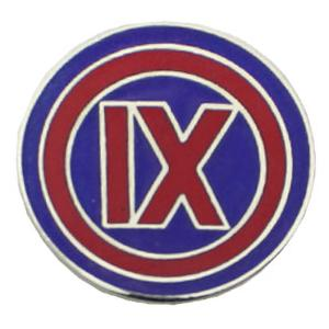 9th Corps Pin