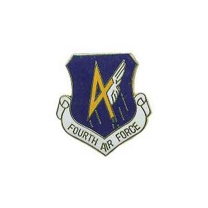 Fourth Air Force Pin