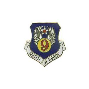 Ninth Air Force Pin