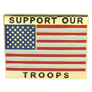 Support Our Troops Pin