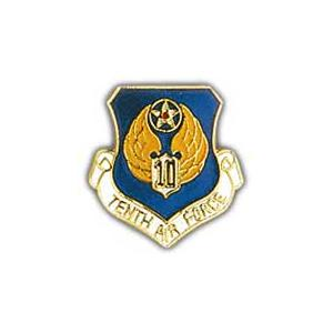 Tenth Air Force Pin