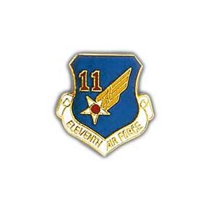 Eleventh Air Force Pin