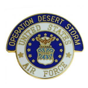 Operation Desert Storm Air Force Pin