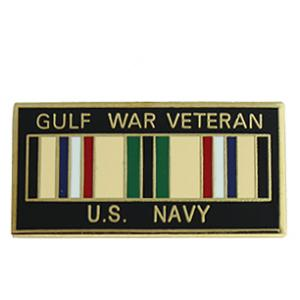 Gulf War Veteran Pin (Navy)