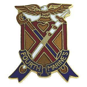 4th Marine Regiment Pin
