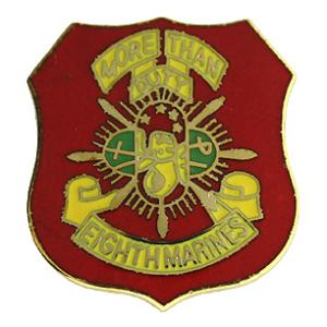 8th Marine Regiment Pin