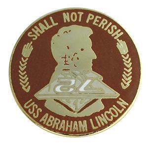 USS Abraham Lincoln Pin