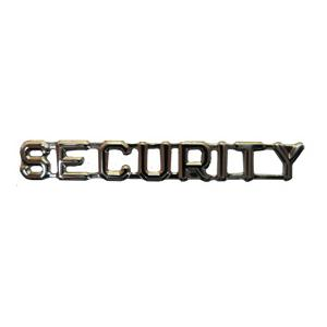 SECURITY Pin (Silver)