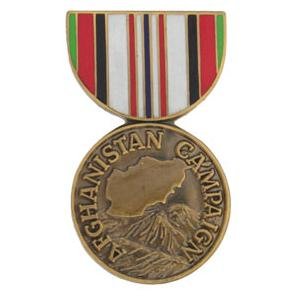 Afghanistan Campaign (Hat Pin)