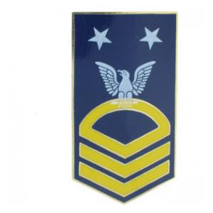 Navy Master Chief Petty Officer Hat Pin