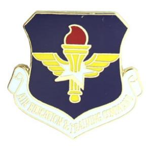 Air Education and Training Command Pin
