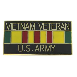 Army Vietnam Veteran Pin