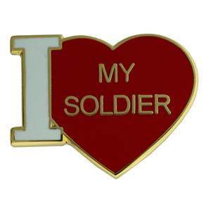 Army - I Love My Soldier Pin