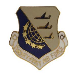 Twenty First Air Force Pin