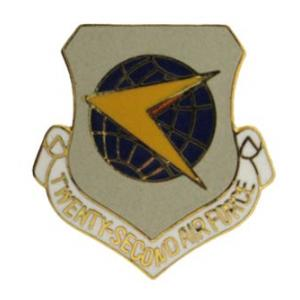 Twenty Second Air Force Pin