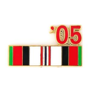 Afghanistan Service Ribbon with 05' Pin