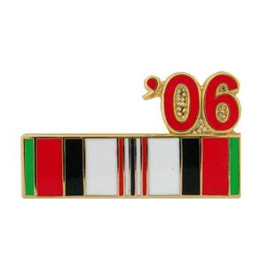 Afghanistan Service Ribbon with 06' Pin