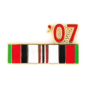 Afghanistan Service Ribbon with 07' Pin