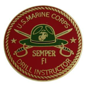 US Marine Corps Drill Instructor Pin