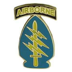 Special Forces Airborne Pin