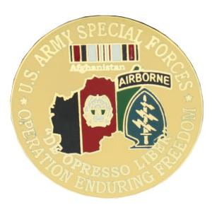 Operation Enduring Freedom Special Forces Pin