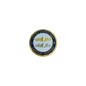 Navy Surface Warfare Challenge Coin