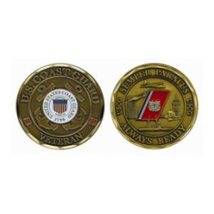 Coast Guard Veteran Challenge Coin