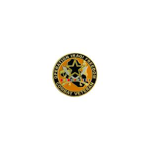 Army Operation Iraqi Freedom Combat Veteran Challenge Coin