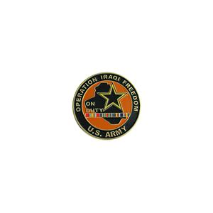 Army Operation Iraqi Freedom On Duty Challenge Coin