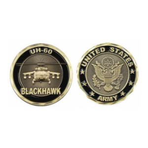 Army Blackhawk UH-60 Challenge Coin