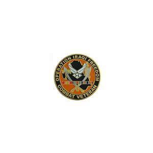 Air Force Operation Iraqi Freedom Combat Veteran Challenge Coin