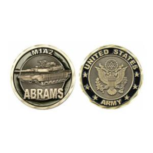 Army Abrams M1A2 Challenge Coin