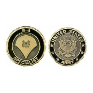Army Specialist Challenge Coin