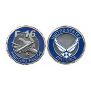 Air Force F-16 Fighting Falcon Challenge Coin