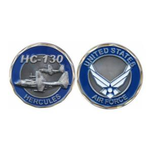 Air Force HC-130 Hercules Challenge Coin