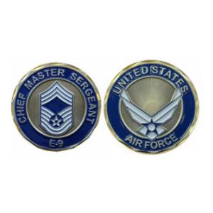 Air Force Chief Master Sergeant Challenge Coin