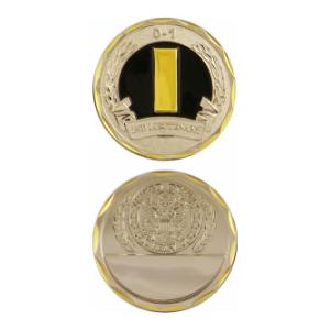 Army 2nd Lieutenant Challenge Coin