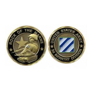 Army 3rd Infantry Division Challenge Coin