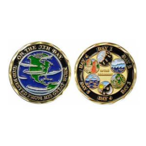 Seven Days of Creation Challenge Coin
