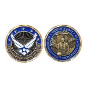 Air Force Values Challenge Coin