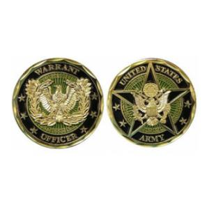 Army Warrant Officer Challenge Coin