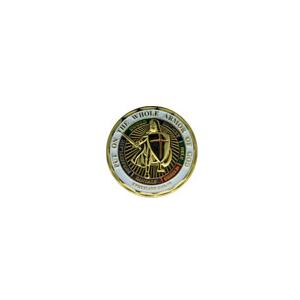Army Armor of God Challenge Coin